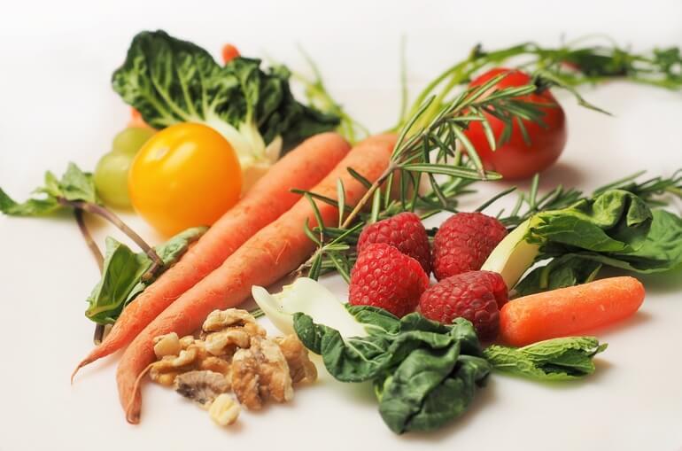 Vegan Dieet opties